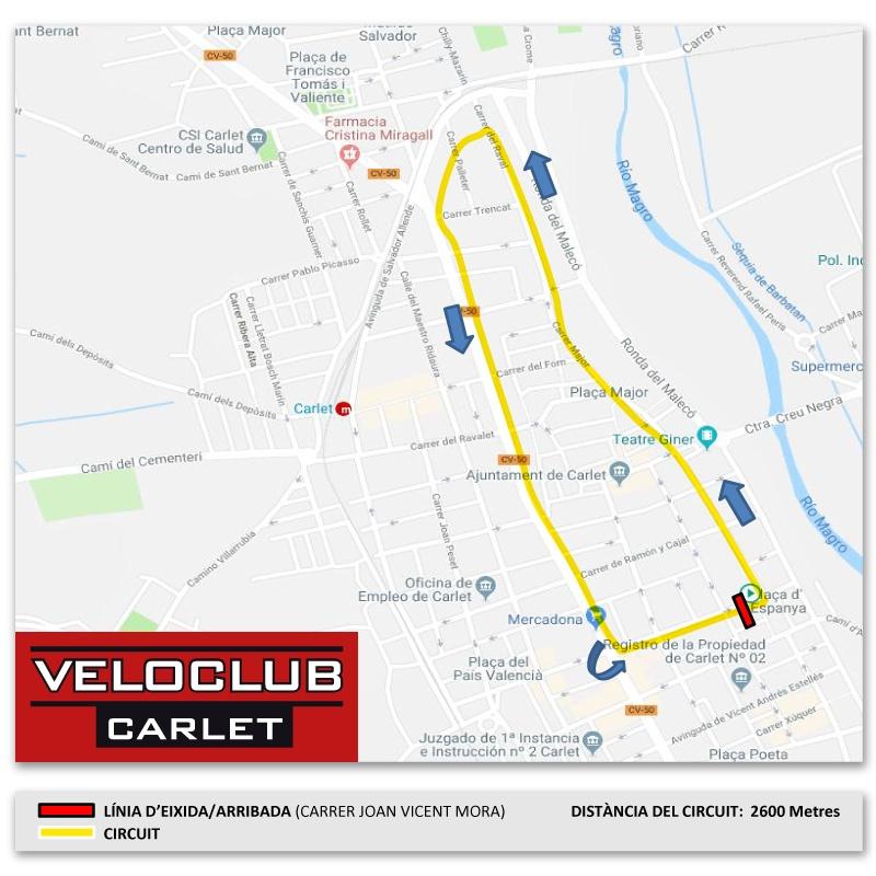 Veloclub Carlet carrera festes 2019